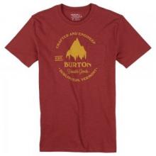 Gristmill Slim Short Sleeve T-Shirt Men's, Dusty Cedar, L by Burton