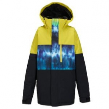 Symbol Insulated Snowboard Jacket Boys', Surfstripe Black, L in Kirkwood, MO