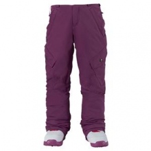 Elite Cargo Insulated Snowboard Pant Girls', Grapeseed, M by Burton