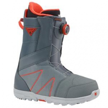 Highline Boa Snowboard Boots Men's, Gray/Red, 8.5 by Burton