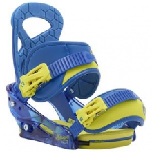 Mission Smalls Snowboard Binding Boys', Next Level Blue, S by Burton