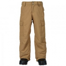 Exile Cargo Insulated Snowboard Pant Boys', Kelp, L by Burton