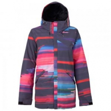 Cadence Insulated Snowboard Jacket Women's, Coral Flynn Glitch, L in O'Fallon, IL