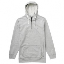 Roe 1/4-Zip Hoodie Men's, Heather Pewter, L by Burton