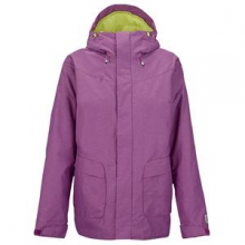Cadence Insulated Snowboard Jacket Women's, Grapeseed, L by Burton