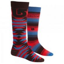 Weekend 2-Pack Snowboard Socks Men's, Mocha, L by Burton