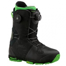 Photon Boa Snowboard Boots Men's, Black/Green, 8.5 by Burton