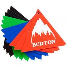 Tri-Scraper Snowboard Tool, Assorted by Burton