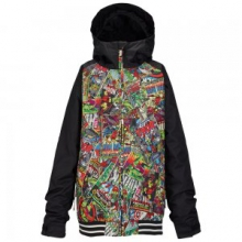 Minishred Game Day Snowboard Jacket Little Boys', Marvel, 3T by Burton