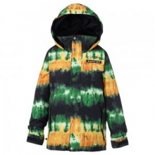 Amped Insulated Snowboard Jacket Boys', Slime Surf Stripe, L by Burton