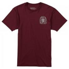 Crescent Skull Short Sleeve T-Shirt Men's, Wino, L by Burton