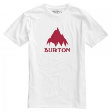 Classic Mountain Short Sleeve T-Shirt Men's, Stout White, L by Burton