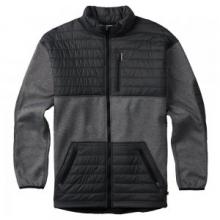 Backside Fleece Jacket Men's, True Black, L by Burton