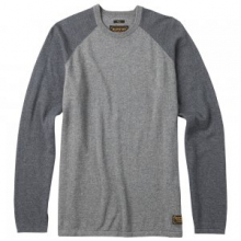 Stowe Raglan Sweater Men's, Dark Ash Heather, L in Kirkwood, MO