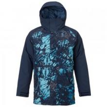 Breach Insulated Snowboard Jacket Men's, Eclipse Tie Dye Trench/Eclipse, L by Burton