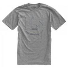 Pinner Short Sleeve T-Shirt Men's, Heather Grey, L by Burton