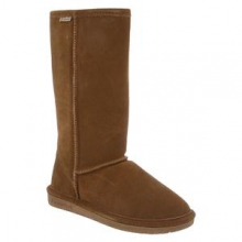 Emma Tall Boot Women's, Hickory, 6 by Bearpaw
