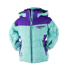 Gaia Jacket - Girl's: Mint, 3