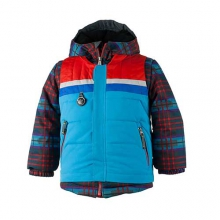 Grom Jacket - Boy's: El Wolf Plaid, 2
