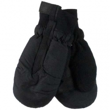 Thumbs Up Mittens - Solids: Black, Small