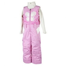 Love Bib Toddler Girls Ski Pants