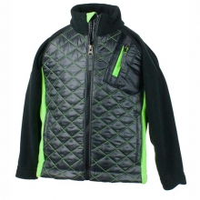 Supercross Hybrid Jacket Little Boys', Ebony, S by Obermeyer