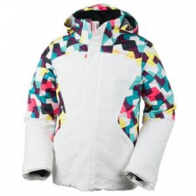 Sara Insulated Ski Jacket Girls', Daffodil, S