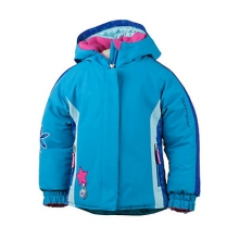Pico Insulated Ski Jacket Little Girls', Wild Pink, 2