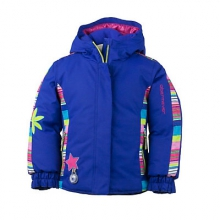 Pico Insulated Ski Jacket Little Girls', Wild Pink, 2 by Obermeyer