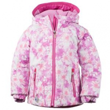 Arielle Insulated Ski Jacket Little Girls', Folklore Print, 3 by Obermeyer