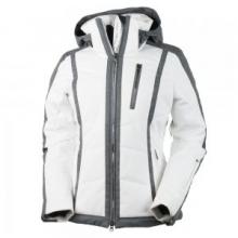 Cortina Ski Jacket Women's, White, 10 by Obermeyer