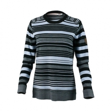 Fiona Stripe Knit Crew Womens Sweater