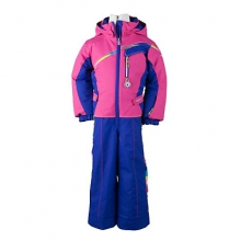 Starlet Insulated Ski Suit Toddler Girls', Carnival Stripe, 2 by Obermeyer