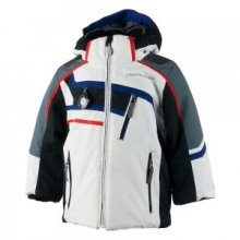 Tomcat Insulated Ski Jacket Little Boys', White, 2