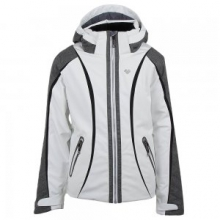 Dyna Insulated Ski Jacket Girls', White, S