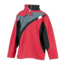 Podium Fleece Top Little Boys', True Red, XS