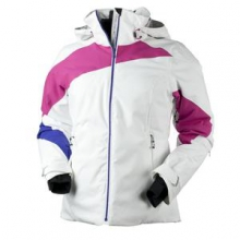 Nova Insulated Ski Jacket Women's, Beetroot/White, 10