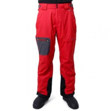 Batten Insulated Ski Pant Men's, Deep Red, S by Obermeyer