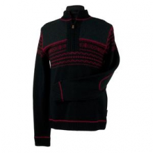 Otis Sweater Men's, Black/True Red, S