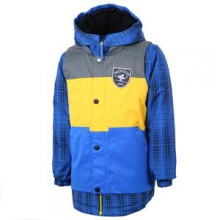 Slopestyle Ski Jacket Little Boys', Electric Blue, 2