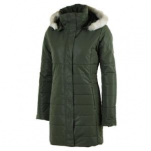 Penelope Insulated Coat Women's, Stone Green, 10 by Obermeyer