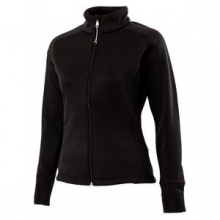 Sunlite Full-Zip Fleece Top Women's, Black, XL by Obermeyer