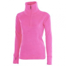 Brandi 1/2-Zip Fleece Top Women's, Knockout Pink, XS by Obermeyer