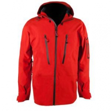 Capitol Shell Ski Jacket Men's, El Tomato, S by Obermeyer