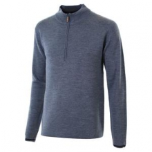 Matterhorn 1/2-Zip Sweater Men's, Silver, M by Obermeyer
