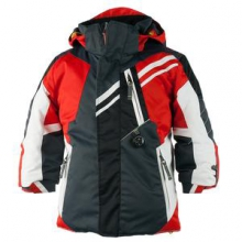 Fusion Ski Jacket Little Boys', Lava, 2