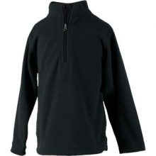Ultragear 100 Microfleece Top Little Kids', Black, L by Obermeyer