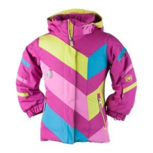 Chakra Ski Jacket Little Girls', Glacier Blue, 2 by Obermeyer