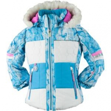 Lush Ski Jacket Little Girls', Wild Berry, 2 by Obermeyer