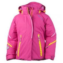 Brier Insulated Ski Jacket Little Girls', Wild Pink, 2